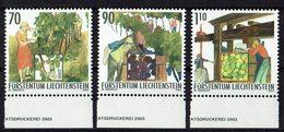 Liechtenstein 2003 # Mi. 1322/1324 ** - Liechtenstein