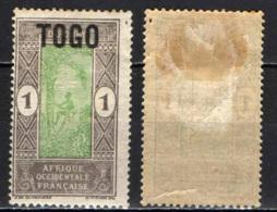 TOGO - 1921 - INDIGENO CHE SALE SULLA PALMA - MH - Nuovi
