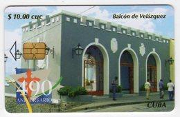 CUBA BALCON DE VELASQUEZ 10$ - Cuba