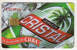 CUBA BIERE CRISTAL 10$ - Cuba