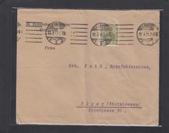 PERFIN/PERFORATION/FIRMENLOCHUNG. M. BRAUNSBERG & SÖHNE,HANNOVER. - Deutschland