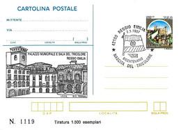 ITALIA - 1997 REGGIO EMILIA Bicentenario Del Tricolore Ann. Fdc Su Cartolina Postale CP Sovrastampata - Storia