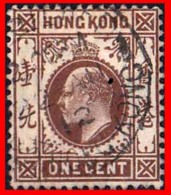 HONG KONG ( ASIA )  STAMPS 1903 EDUARDO VII - 1941-45 Japanese Occupation