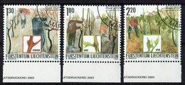 Liechtenstein 2003 # Mi. 1311/1313 O - Liechtenstein