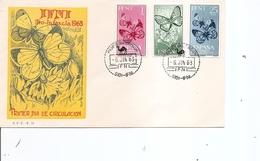 Ifni - Papillons ( FDC De 1963 à Voir) - Ifni