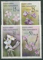 Türkisch-Zypern 2005 Blumen: Sandnelke, Rittersporn, Lavendel 620/23 Postfrisch - Chypre (Turquie)