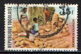 TOGO - 1980 - ATTIVITA' - LAVORO DEL TOGO - USATO - Togo (1960-...)