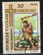 TOGO - 1982 - PASQUA - QUINTO COMANDAMENTO - USATO - Togo (1960-...)