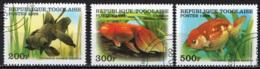 TOGO - 1999 - PESCI TROPICALI - FISHES - USATI - Togo (1960-...)