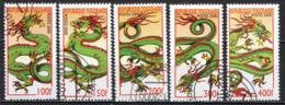 TOGO - 2000 - AL NUOVO ANNO - ANNO DEL DRAGONE - USATI - Togo (1960-...)
