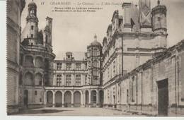C.P.A. - CHAMBORD - LE CHÂTEAU - L'AILE FRANCOIS 1er -  DUC DE PARME - 11 - BAZIN - Chambord