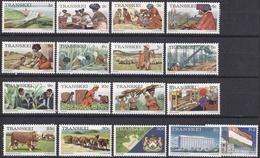 Wib_ Transkei - Mi.Nr. 1 - 17 - Postfrisch MNH - Transkei