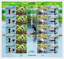 Bosnia And Herzegovina - Republic Of Srpska 2011 Full Sheet MNH Birds Of Bardaca Swan Cygne Birds Bird Oiseaux Oiseau - Cygnes