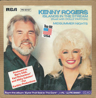 """7"""" Single, Kenny Rogers & Dolly Parton, Islands In The Stream - Disco, Pop"""