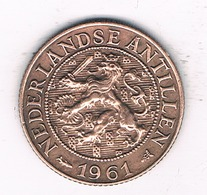 1 CENT 1961 NEDERLANDSE ANTILLEN /2796/ - Antilles Neérlandaises
