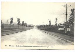 LILLE - Le Boulevard Lille-Roubaix-Tourcoing Au Château Rouge  - Tramway - Lille