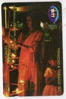 TRINIDAD & TOBAGO CARAIBES MV Cards T&T-11A 30$ 11CTTA DEEPAVALI FESTIVAL - Trinité & Tobago
