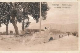 V.735.  ALBENGA - Ponte Lungo E Strada Provinciale - Otras Ciudades