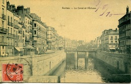 44 Nantes - Le Canal Et L'Ecluse - Nantes
