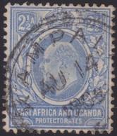 East Africa & Uganda      .   SG  .        20     .       O   .      Cancelled    .   /    .    Gebruikt - Protectorados De África Oriental Y Uganda