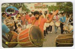 TRINIDAD & TOBAGO CARAIBES MV Cards T&T-5C 30$ 5CTTC HOSAY - Trinité & Tobago