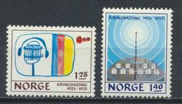 °°° NORGE NORWAY - Y&T N°668/69 - 1975 MNH °°° - Norvegia