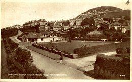 RPPC BOWLING GREEN AND STATION ROAD PENMAENMAWR - Caernarvonshire