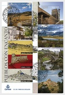 H01 Spain 2019 Charming Places  FDC - 1931-Heute: 2. Rep. - ... Juan Carlos I