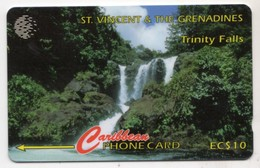 SAINT VINCENT Et GRENADINES REF MVCARDS STV-52A CABLE & WIRELESS 1996 10$ 52CSVA TRINITY FALLS - San Vicente Y Las Granadinas
