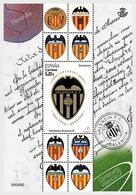 H01 Spain 2019 Centenary Of Valencia Club De Fútbol  MNH Postfrisch - 1931-Heute: 2. Rep. - ... Juan Carlos I