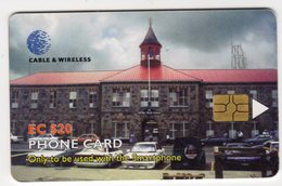 SAINT VINCENT Et GRENADINES REF MVCARDS STV-C5B CABLE & WIRELESS 2001 20$ - St. Vincent & The Grenadines