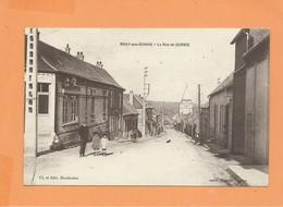 CPA -  Bray Sur Somme - La Rue De Corbie - Bray Sur Somme