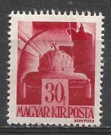 Hungary 1943. Scott #613 (M) Crown Of St. Stephen * - Hongrie