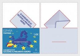 H01 Spain 2019 40th Anniversary Of European Parliament Elections  MNH Postfrisch - 1931-Heute: 2. Rep. - ... Juan Carlos I
