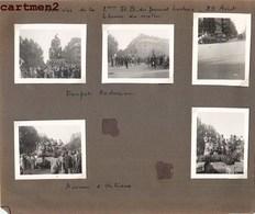 LIBERATION PARIS 2e D.B. DU GENERAL LECLERC 25 AOUT 6 HEURES DU MATIN DENFERT-ROCHEREAU TANK CHAR D'ASSAULT GUERRE - Oorlog, Militair