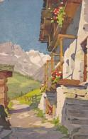 LA GRANDE MURAILLE VUE DE VALTOURNENCHE. ED STEHN. CPA CIRCA 1910s - BLEUP - Italia