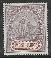 South Africa, CoGH,1898, 2=, Revenue, MH * - South Africa (...-1961)