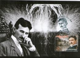 Macedonia Maximum Card 2006 Nikola Tesla Michel 394 - Macedonia