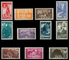 RUMÄNIEN 1945 Nr 836-846 Postfrisch S0198DA - 1918-1948 Ferdinand, Carol II. & Mihai I.