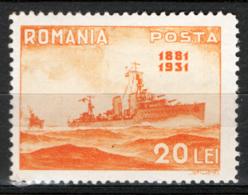 Romania 1931 Unif.405 **/MNH VF/F - Ungebraucht