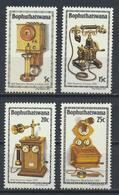 °°° BOPHUTHATSWANA - Y&T N°76/79 - 1981 MNH °°° - Bophuthatswana