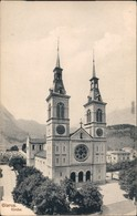 Glarus Glaris | Glarona | Glaruna | Claruna Partie An Der Kirche 1913  - GL Glaris