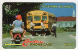 CAYMAN ISLANDS CABLE & WIRELESS MV Cards CAY-163A 1997 10$  CN 163CCIA - Iles Cayman