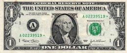 USA= BOSTON  2003   1  DOLLAR   STAR  NOTE  VF/X FINE - Bilglietti Della Riserva Federale (1928-...)