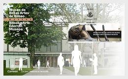H01 Spain 2019 Museums - Museo De Bellas Artes De Bilbao FDC - 2011-... Nuovi & Linguelle