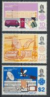 °°° BRUNEI - Y&T N°296/98 - 1983 MNH °°° - Brunei (1984-...)