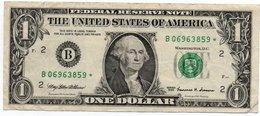 USA= NEW YORK    1999   1  DOLLAR   STAR  NOTE  VF/X FINE - Billets De La Federal Reserve (1928-...)