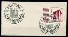 DEUTSCHES REICH 1939 Nr 693 Zentrisch Gestempelt Briefstück X8B0322 - Deutschland
