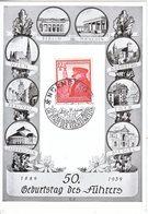 PROPAGANDA  CARD  TERRITORIAL  CONQUESTS  NURNBERG  Cd. - War 1939-45