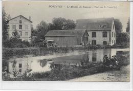 45 DORDIVES . Le Moulin De Nançay Animé , Vue Sur Le Canal , Voiture Ancienne , édit : Leloup , Années 10 , état Extra - Dordives